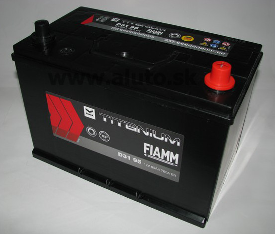 Fiamm DIAMOND JAPAN 12V 95Ah 760A, pravá