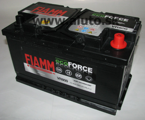 Fiamm ECOFORCE AGM 12V 80Ah 800A