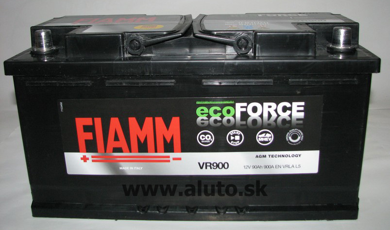 Fiamm ECOFORCE AGM 12V 90Ah 900A