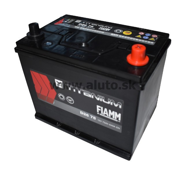 Fiamm ECOFORCE AGM 12V 75Ah 640A