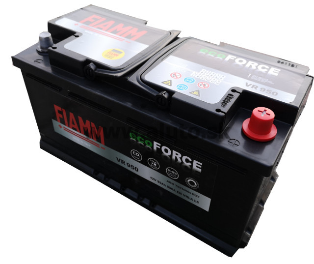 Fiamm ECOFORCE AGM 12V 95Ah 950A