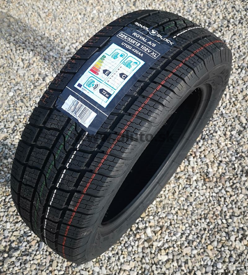 ROYAL BLACK ROYAL A/S 225/55R18 102 V XL